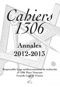 Cahier 1306 Annales 2012-2013