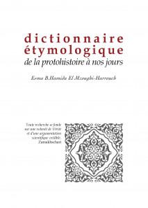 Dictionnaire étymologique, de la protohistoire à nos jours