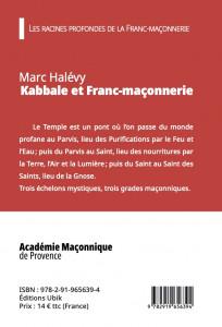 Kabbale et Franc-maçonnerie, de Marc Halévy