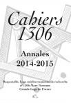 Cahier 1306 Annales 2014-2015