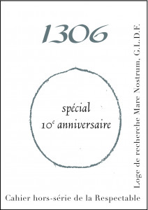 Cahier 1306 hors-série